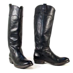 FRYE 'Carson' $397 Lug Riding Boots 77203